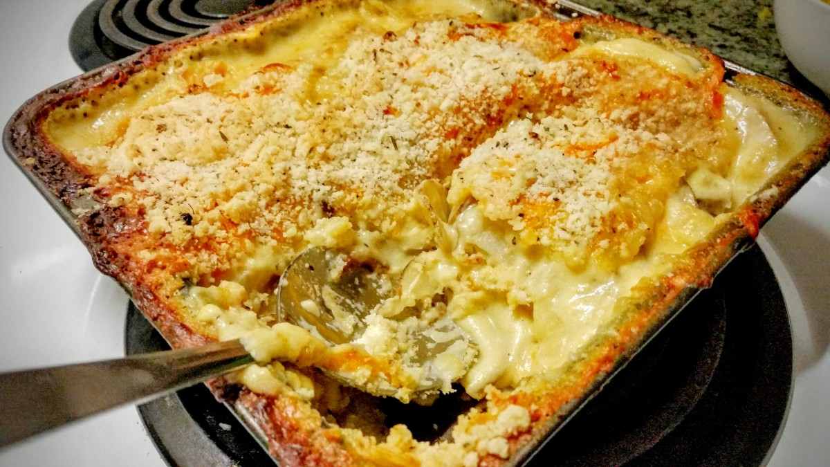 recipe: gluten free scalloped potatoes
